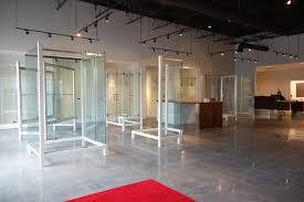 Atlanta Shower Door Drexler Shower Door Custom Glass Opens Reved Showroom