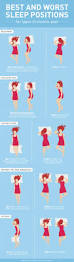 Comfortable Ways To Sleep The Graphic Shows The Best And Worst Sleeping Positions For Common