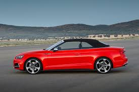 audi a5 roof 2017 audi s5 and a5 cabriolet chop their tops at la by car magazine