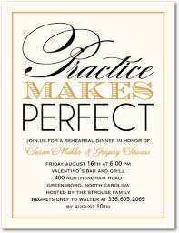 rehearsal dinner invitations practice makes rehearsal dinner invitations haywardtoytv