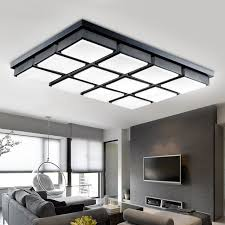plafonnier bureau moderne bureau éclairage led carré plafond salon salle à manger