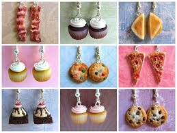 food earrings food earrings 2013 by littlesweetdreams on deviantart