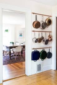 Pots And Pans Cabinet Rack Best 25 Hanging Pans Ideas On Pinterest Hanging Pots Hanging
