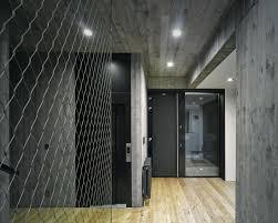 home design furniture ta fl grey walls white trim black doors innovative hallway in the seaside