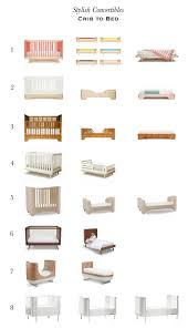 Cribs That Convert Into Full Size Beds by Stylish Convertibles Cribs To Toddler Beds Apartment Therapy