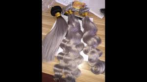 salt and pepper tape in hair extentions gray color clip hair extension body wave grey color clips in