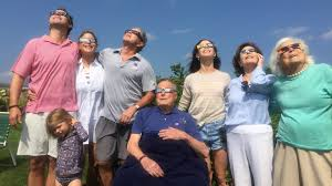 famil see how the bush family and other famous viewers watched the solar