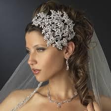 bridal headband vintage couture side accented bridal headband headpiece