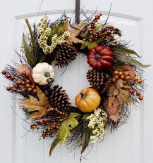 fall wreaths great finds on etsy lovely pursuits