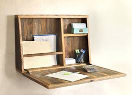 Secretary Desk For Desktop Computer Amazon Com Drop Down Secretary Desk Wall Mounted Desk Handmade