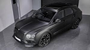 bentley blacked out kahn bets on black with bentley bentayga le mans edition