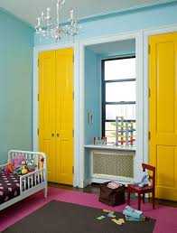 Pink And Green Kids Room by Yellow And Pink Contemporary Kid Room Design Ideas
