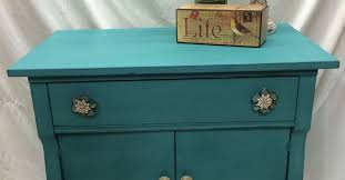 Turquoise Side Table Turquoise Hand Painted Side Table Hometalk