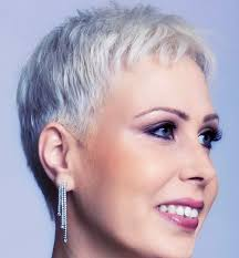 pixie grey hair styles short hairstyles and cuts the grey haired pixie hairstyle tapered
