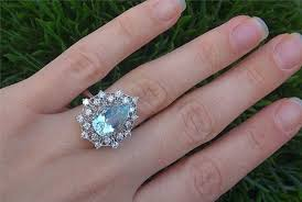 antique aquamarine engagement rings the meaning of aquamarine birthstone engagement rings engagement