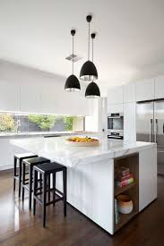 kitchen floating island east malvern residence by lsa architects beautiful countertops