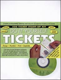 raffle ticket printing paper do it yourself raffle tickets starter kit american legion flag