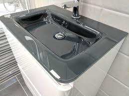 glass vanity unit home furniture u0026 diy ebay