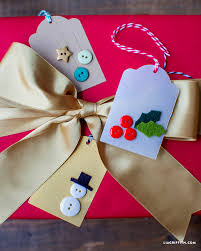 button gift tags for a fun kids craft lia griffith
