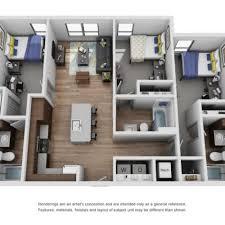 2 Bedroom Apartments Ann Arbor 2 Bed 2 Bath Apartment In Ann Arbor Mi The Yard