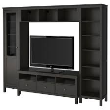 hemnes tv bench hemnes tv storage combination σκούρο καφέ tv furniture ikea κύπρος