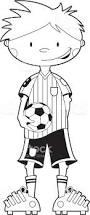 colour soccer boy ball stock vector art 165605976 istock