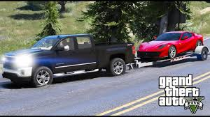 ferrari pickup truck another day at work 14 gta 5 real life mod chevy silverado