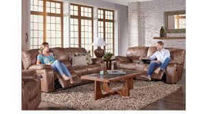 cindy crawford home alpen ridge reclining sofa cindy crawford home alpen ridge tan 7 pc reclining living room