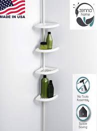 Space Saver Bathroom by Shower Corner Caddy Bathroom Shelf Space Saver Storage Organizer