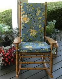 Patio Chair Pads by Indoor Outdoor Rocking Chair Cushions Fits Cracker Barrel Patio