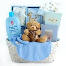 baby basket gift new arrival baby boy gift basket free shipping today overstock