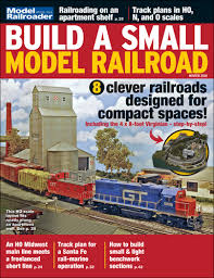 build a build a small model railroad modelrailroader