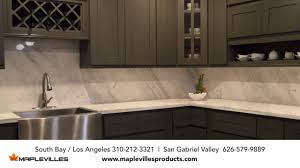 maplevilles custom kitchen cabinets and granite countertop youtube