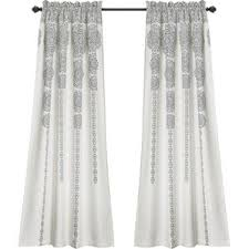 gray and silver ikat curtains u0026 drapes you u0027ll love wayfair