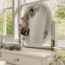 Women S Vanity Makeup Vanity Table With Mirror Designwalls Com