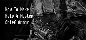 how to make halo 4 master chief armor with cardboard part 00