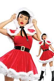 37 49 cute wraped bubble pleated furry christmas miss santa