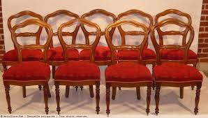 chaises louis philippe suite de neuf chaises louis philippe xixe siècle n 16869