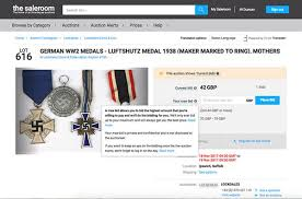 pay to bid auction flaw exposed in saleroom auctions news articles militaria