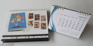 Diy Desk Calendar by Recycle Desk Calendar To Makeup Daily Inspiration Mega Kristin