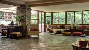 Frank Lloyd Wright Falling Water Interior Wpc Fallingwater Campaign Video Youtube