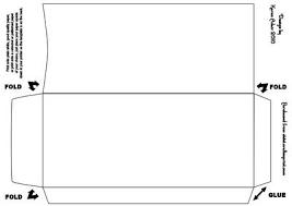 19 template for envelope printing pino print paper bag box