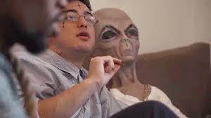 Stoned Alien Meme - alien stoned gif