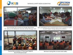 national safety week celebration from 4th march to 10th march ppt
