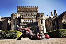 Ex Machina Mansion by Ryan Reynolds Marks The Start Of Production On Deadpool 2 With