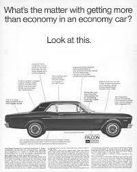 ford falcon advertisement gallery