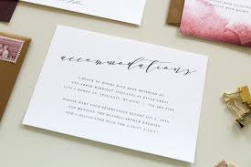 Card For Wedding Invitations Custom Calligraphy Wedding Invitation Suite Tied U0026 Two