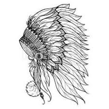 coloring pages of indian feathers free coloring page coloring indian headdress the indian feather hat