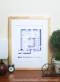 sex and the city floor plan buy poster of carrie bradshaw apartment layout