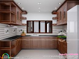 Kitchen Interiors by Delighful Kitchen Design In Kerala Houses Intended Modern Ideas By